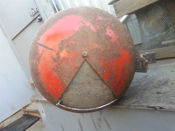 Чертеж мангала из газового баллона с размерами